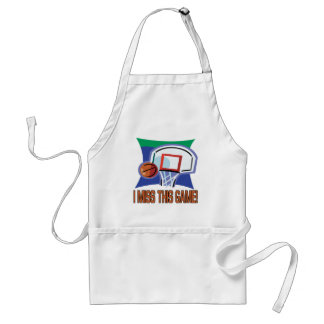 I Miss This Game Adult Apron