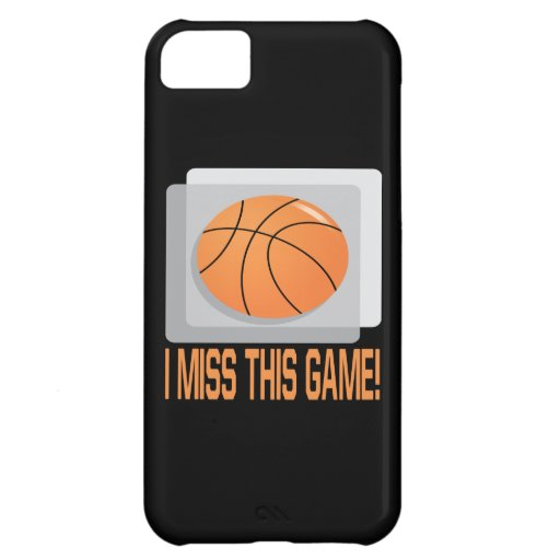 I Miss This Game Cover For iPhone 5C