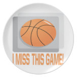 I Miss This Game Dinner Plate