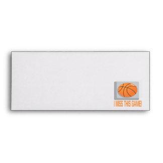 I Miss This Game Envelope