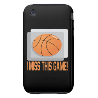 I Miss This Game iPhone 3 Tough Cover