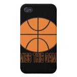 I Miss This Game iPhone 4 Case