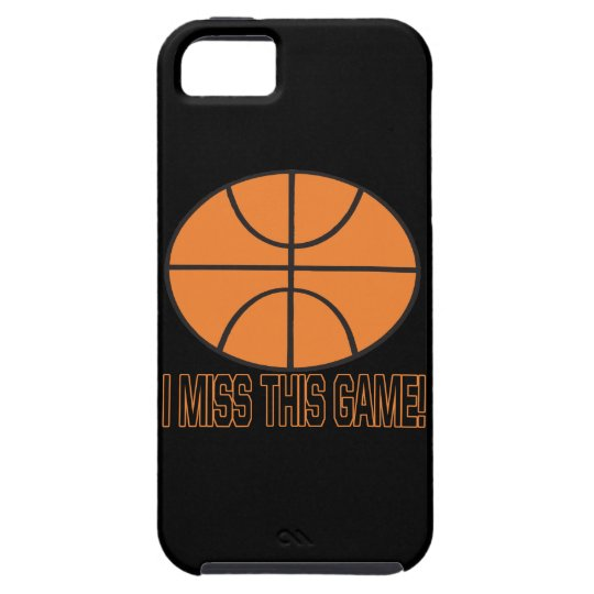 I Miss This Game iPhone SE/5/5s Case