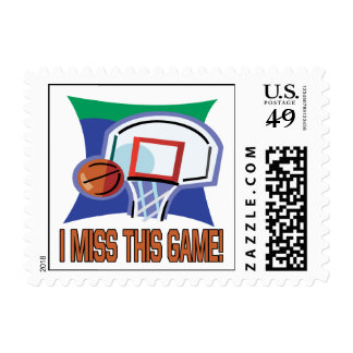 I Miss This Game Postage Stamp