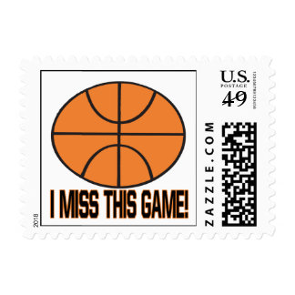 I Miss This Game Postage Stamps