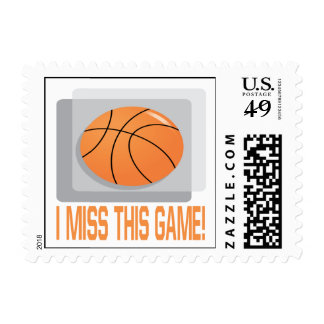 I Miss This Game Stamps