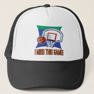 I Miss This Game Trucker Hat