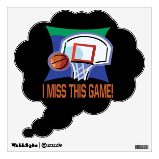 I Miss This Game Wall Sticker