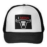 i MISS W TEXAS STYLE! Mesh Hats