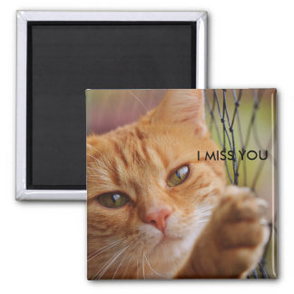 I MISS YOU 2 INCH SQUARE MAGNET