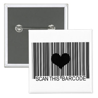 I MISS YOU BARCODE BUTTON