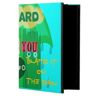 I miss You Blame it on the Rain iPad Air Case