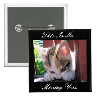 I Miss You Button