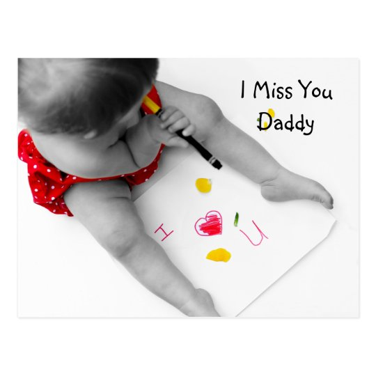 I miss you, daddy