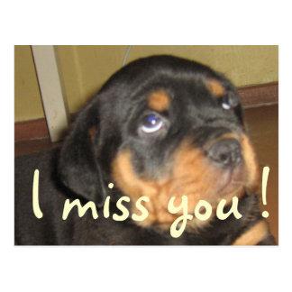 I miss you..forgot your birthday postcard
