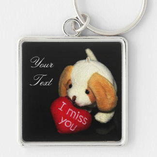 """I Miss You"" Keychain"