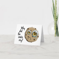 I MISS YOU mom cookie joke Card