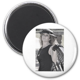 I Miss You More than Life Itself 2 Inch Round Magnet