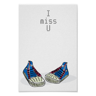i miss you poster