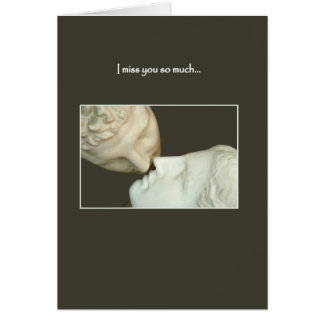 I Miss You So Much Greeting Card