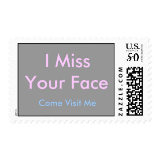 I Miss Your Face Stamp