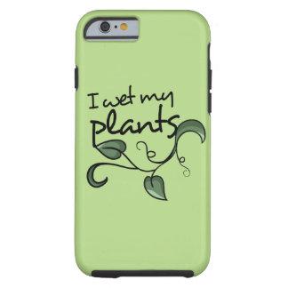 I mojó mis plantas funda de iPhone 6 tough
