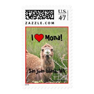 I ♥ Mona! Postage Stamp
