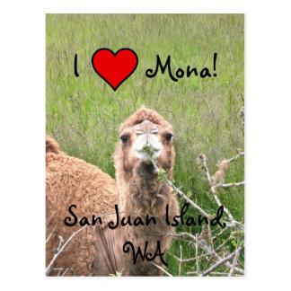 I ♥ Mona! Postcard