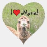 I ♥ Mona! Stickers