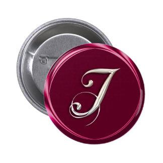 I-monogram Pinback Button
