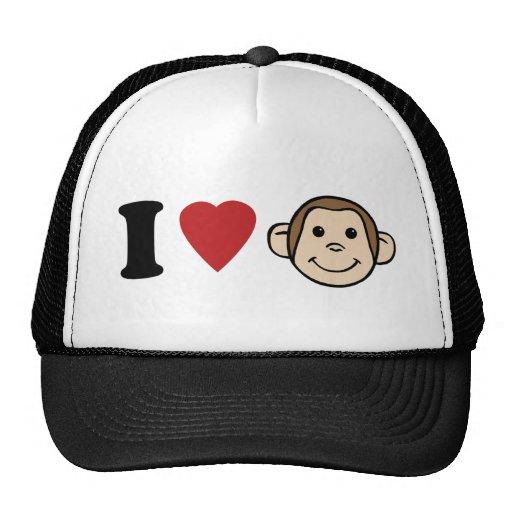 I monos del corazón gorra