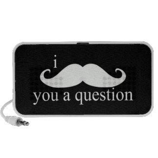 I Moustache You A Question Speaker