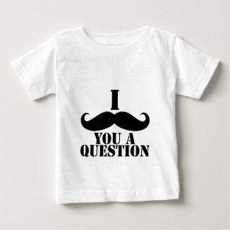 I Moustache You A Question Tee Shirt
