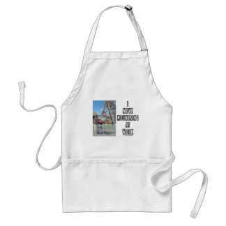 I Move Mountains At Work (Software Developer) Adult Apron