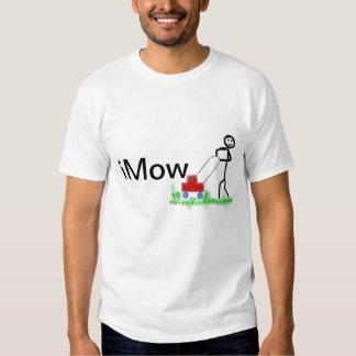 I Mow cute mowing T-Shirt