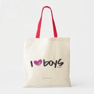 I muchachos del corazón púrpuras bolsa tela barata