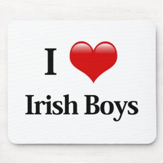 I muchachos del irlandés del corazón alfombrillas de raton
