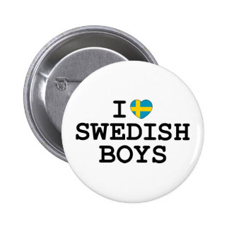 I muchachos del sueco del corazón pins