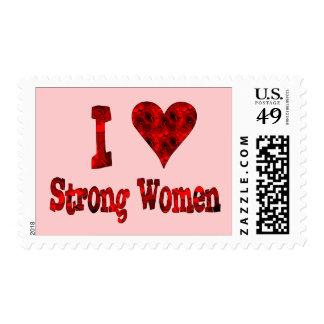 I mujeres fuertes del corazón sellos