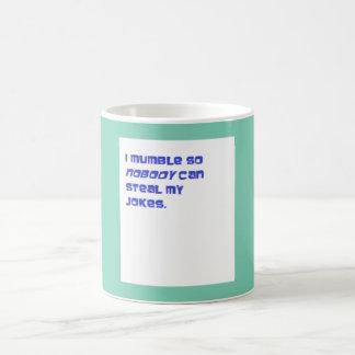 I Mumble mug
