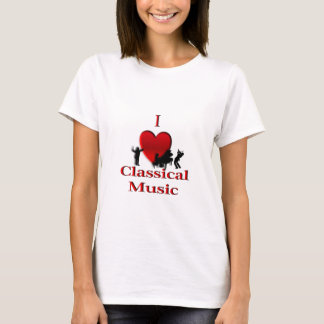 I música clásica del corazón playera