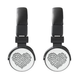 I música cristiana del corazón (auriculares) auriculares