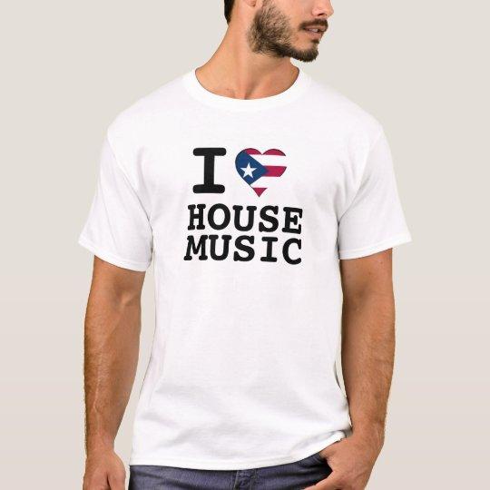 I música de la casa del corazón del puertorriqueño playera