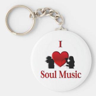 I música del alma del corazón llaveros personalizados