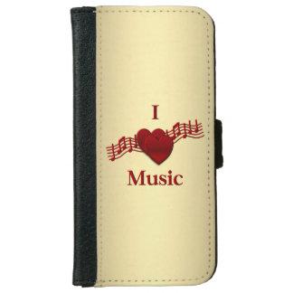 I música del corazón carcasa de iPhone 6