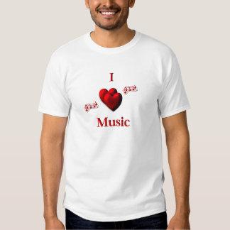 I música del corazón playeras
