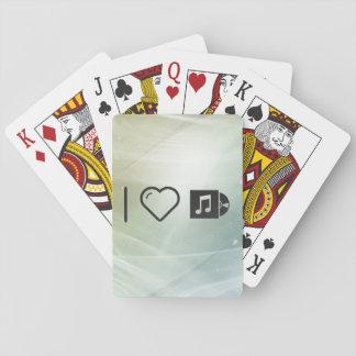 I músicas que escuchan del corazón cartas de juego