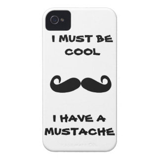I must be cool i have a Beard funny humor facial iPhone 4 Case
