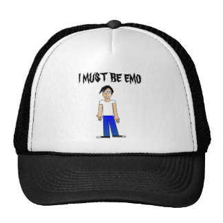I MUST BE EMO HAT