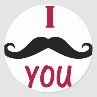 I Must Have You Classic Round Sticker